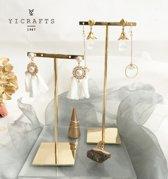 Earrings bracelet necklace jewelry display