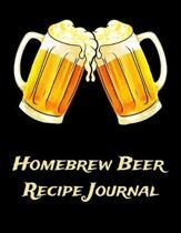 Homebrew Beer Recipe Journal: Beer Brewer Log Notebook