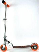 Alert Aluminium Scooter Step Zilver/Oranje