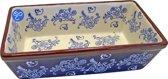 Lavandoux - Cakevorm - Rechthoekig - 25 cm - Floral Lace Blue