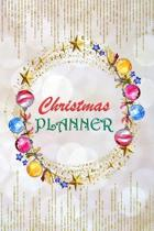 Christmas Planner: 6''x 9'' Fill-In-The-Blanks Organizer For The Holiday Season With Customizable Calendar, Space To Keep Track Of Cards, G