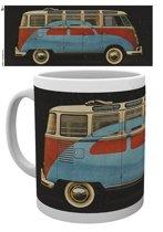 Merchandisehouse VW Camper Advert mok