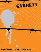 Paintball War Journal - Garrett