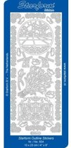 KH. Pruik, [ Poppenpruik ] Staartjes-K, 26-28 Hoofdomvang, Goudblond 54-405-26B