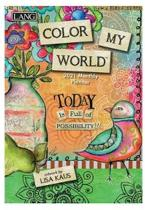 Color My World 2021 Monthly Pocket Planner