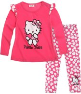 Hello Kitty T-shirt met legging fuchsia