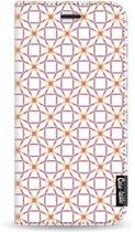 Casetastic Smartphone Hoesje Wallet Case White Apple iPhone 11 Pro - Geometric Lines Sweet