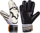 RWLK Roll Keepershandschoenen-Unisex-Maat-8-Zwart/Wit