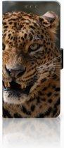 Huawei Mate 20 Uniek Boekhoesje Luipaard