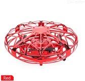 Ufo drone - rood - gadget - speelgoed - cadeau - kinderen