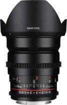 Samyang 24mm T1.5 VDSLR ED AS IF UMC II - Prime lens - geschikt voor Nikon