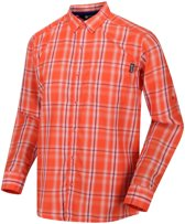 Regatta Mindano II Longsleeve Shirt Heren, blaze orange Maat XXL