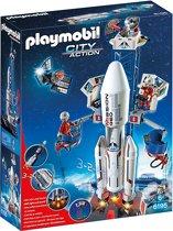 Playmobil Lanceerbasis met raket - 6195