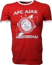 T-shirt ajax rood AFC maat 164