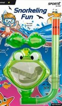 Sportx Snorkelset Kikker Groen