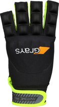Anatomic Pro Glove Links Zwart Neon Geel