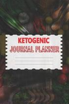 Ketogenic Journal Planner: Meal Tracker And Macro Logbook Ketogenic Diet Food Diary - Fitness Planners And Weight Loss