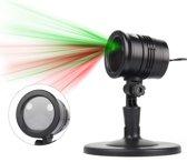 W&W Company - Led Lichteffect Projector Kerstmis | Binnen en Buiten | December Tuinverlichting | met Afstandsbediening