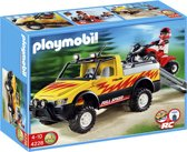 Playmobil Pick Up met Quad - 4228