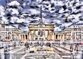 Brandenburger Tor, Berlijn, 1000 stukjes Puzzel