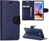 Mercury Sonata - Samsung Galaxy S6 Edge Plus Hoesje - Bookcase - Blauw