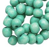 Houten Kralen Vintage Look (6 mm) Mint Green (280 stuks)