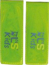 L2s Reflecterende Armband Brassard Junior Geel 11 Cm