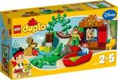 LEGO DUPLO Jake en de Nooitgedachtland Piraten Peter Pan op Bezoek - 10526