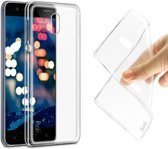 Clear Soft TPU Case Cover + Screen Protector Nokia 3 - Transparent