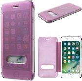 GSMWise - Apple iPhone 7 - Doorzichtige Window View Case - Roze