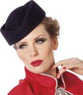 Wolvilt Stewardess marine blauw