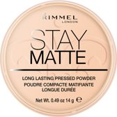 Rimmel London Stay Matte Pressed - 006 Warm Beige - Powder