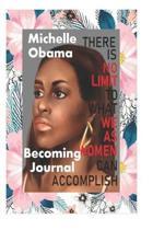 Boekomslag van 'Michelle Obama Becoming Journal'