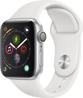 Apple Watch Series 4 - Smartwatch - Wit - 40mm