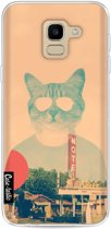 Casetastic Softcover Samsung Galaxy J6 (2018) - Cool Cat