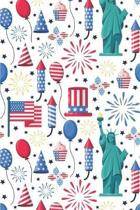 Patriotic Pattern United States of America 140