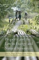 Property and the Law in Energy and Natural Resources