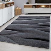 Modern vloerkleed - Broadway - 200x290 cm Zwart