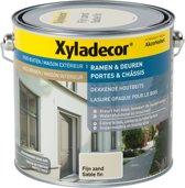 Xyladecor Ramen & Deuren - Dekkende Houtbeits - Fijn Zand - 2,5L
