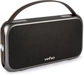 Veho bluetooth speaker M7 Mode Retro zwart - waterbestendig