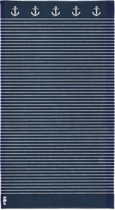 Seahorse Sail Away - Strandlaken - 100 x 180 cm - Navy