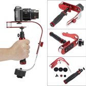 Steadycam DSLR, Action Camera & Smartphone Stabilizer - Handheld iPhone / GoPro / DSLR Cam Stabilisator - tot 1,5 kg