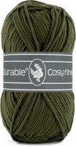 Durable Cosy Fine, Dark Olive, 5 bollen