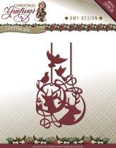 Die - Amy Design - Christmas Greetings - Reindeer Ornament