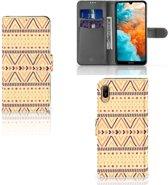Huawei Y6 (2019) Telefoon Hoesje Aztec Yellow