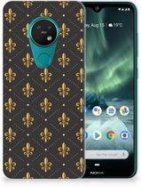 Nokia 7.2 | 6.2 TPU bumper Franse Lelie