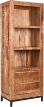 LABEL51 - Boekenkast Gent - Mangohout - 70x45x185 cm
