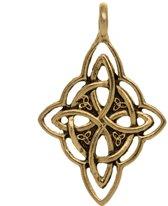 Hanger Celtic Knot (42 x 27 mm) Goud (2 stuks)