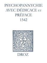 Recueil des opuscules 1566. Psychopannychie avec dédicace et préface (1542)