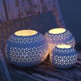 Nkuku Petal T-light holder medium